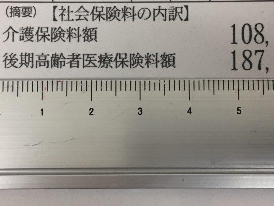 1ミリ前進・・(29年公的年金等の源泉徴収票)