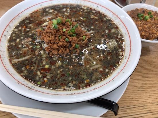担々麺(中華食堂 熊谷:陸前高田)
