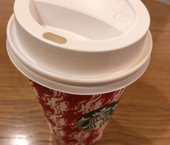 コーヒーショップでのひと時