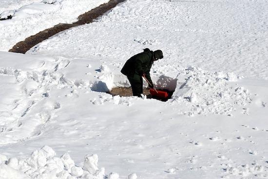 雪かきの費用は・・