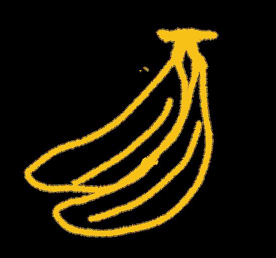 バナナの数は?